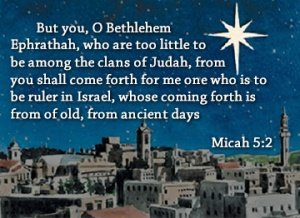 bethlehem micah 5-2