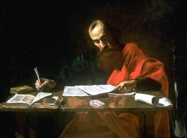 Apostle Paul Writing